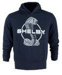 Youth Shelby Snake Navy Pullover Hoodie