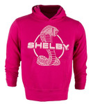 Girls Shelby Snake Pink Pullover Hoodie