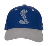 Youth SVT / Shelby Royal Blue & Grey Hat