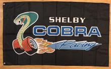 Flag - Shelby Cobra Racing on Black