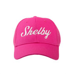Youth Pink Shelby Script Mesh Hat