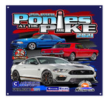 2021 Ponies at the Pike 3' x 3' Vinyl Banner