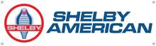 "Shelby American Modern Logo Vinyl Banner 40"" x 12"""