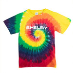 Youth Shelby Rainbow Tie-Dye T-Shirt