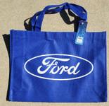 Ford Oval Blue Tote Bag
