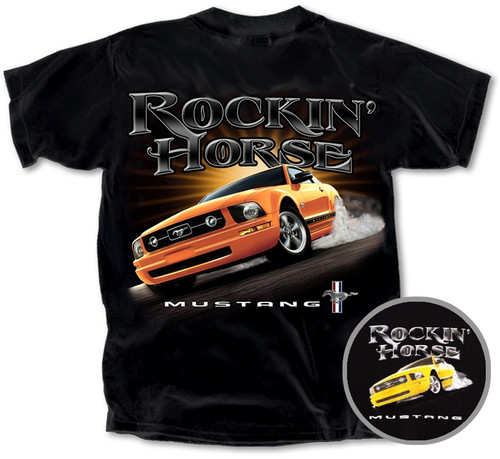 """Rockin Horse"" Mustang T-Shirt"