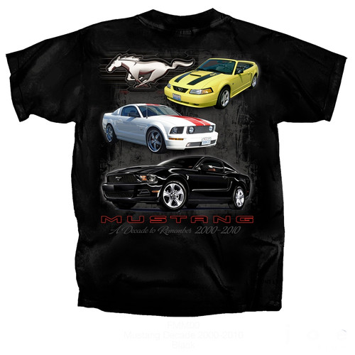 """MUSTANG A Decade to Remember"" T-Shirt"