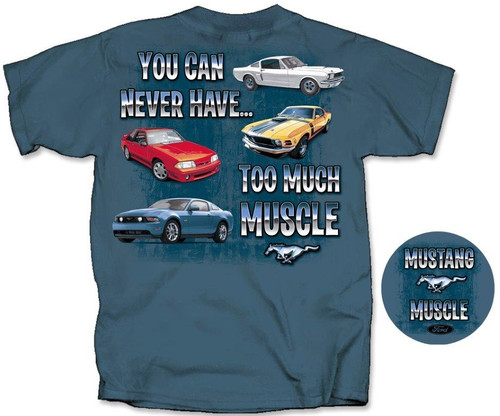 """Mustang Muscle"" T-Shirt - MEDIUM - LAST ONE!"
