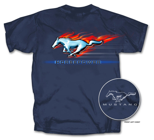 HORSEPOWER Mustang Logo Shirt