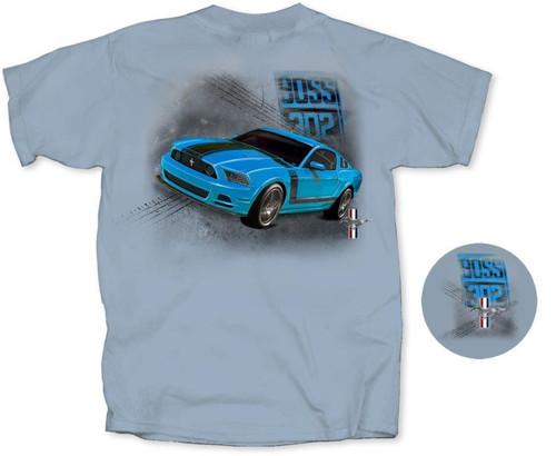 BOSS 302 Mustang - Grabber Blue T-Shirt