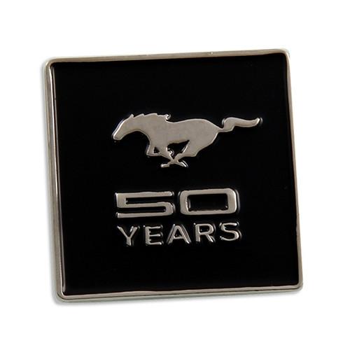 Mustang 50 YEARS Lapel Pin