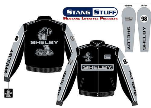 """Shelby Mustang Logo Jacket """"98"""" - LAST ONES"""
