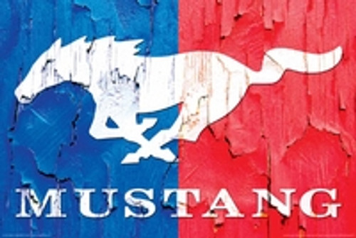 Ford - Mustang Logo Poster