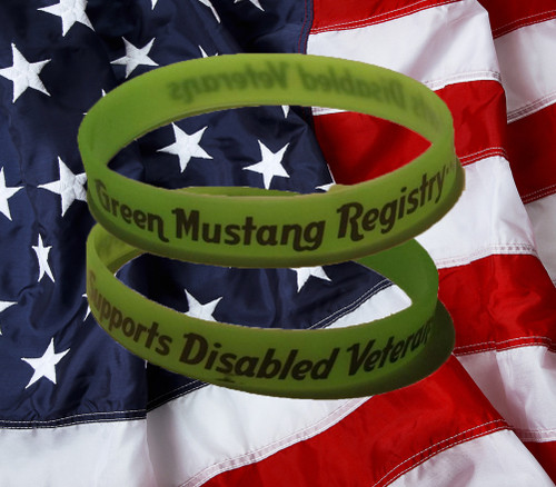 GMR DAV Wristband - Support our Veterans!