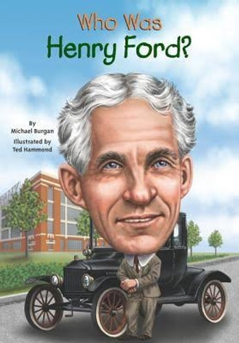 """""""Who Was Henry Ford?"""" Book"""