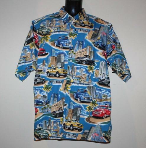 F150 Camp Shirt - F-150 Hawaiian Shirt - LAST ONES!