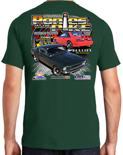 Event Shirt - Ponies at the Pike 2018 - Green