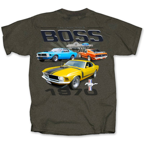You Know Who's BOSS Mustang T-Shirt