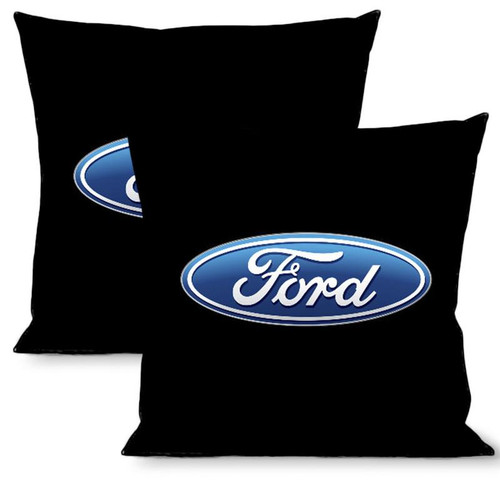 Pillow -Throw - Ford Oval Logo