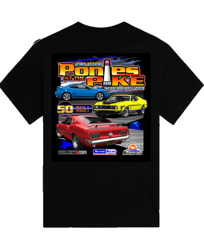 2019 Ponies at the Pike Event Shirt