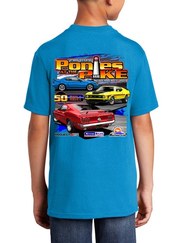 2019 Ponies at the Pike Mustang Event Shirt (Kids)