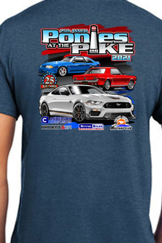 2021 Ponies at the Pike Event Shirt