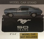 Mustang 50 YEARS Model Car Display Stand
