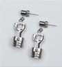 Earrings - Piston & Connecting Rod