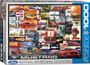 Mustang Vintage Ads Puzzle - 1000 Pieces
