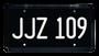 2019 BULLITT Mustang Commercial | Steve McQueen | JJZ 109 | Metal Stamped Replica Prop License Plate