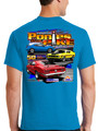 2019 LIMITED EDITION! Ponies at the Pike Event Shirt in AZURE BLUE