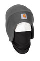 Carhartt 2-In-1 Fleece Cap & Mask - Charcoal