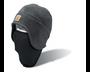 2-In-1 Fleece Cap & Mask - Charcoal