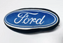 Dog Squeaky Toy - Ford Blue Oval Logo