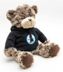 Teddy Bear with Black Shelby Hoodie