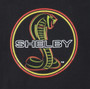 Youth Shelby Snake Neon Black T-Shirt