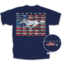 Mustang Flag T-Shirt