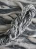 Occupy Wall Street sliver and handspun yarn