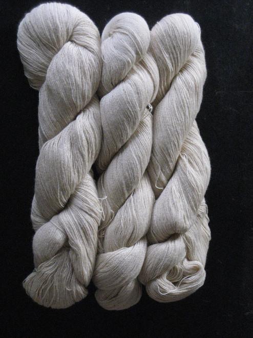 natural green cotton yarn