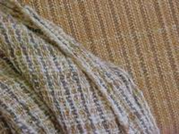 My first handspun handwoven singles