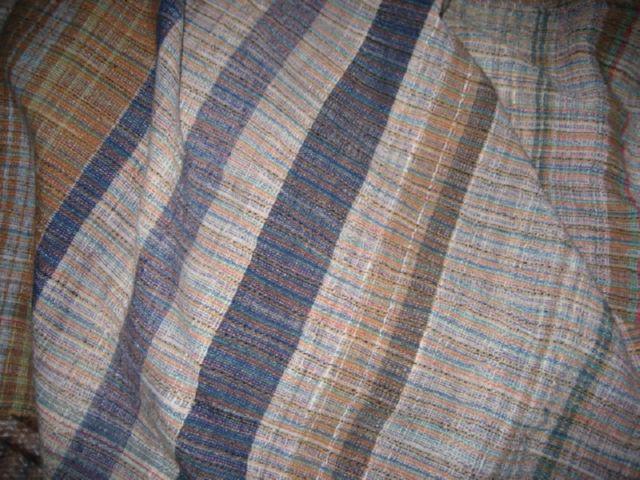 zanshi khadi  charkha spun handwoven cotton