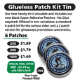 Glueless Patch Kit Tin (PK6)