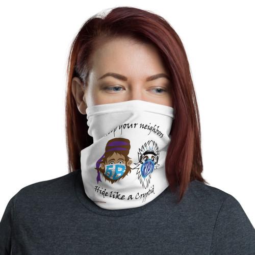 Masked Cryptids Neck Gaiter/Buff