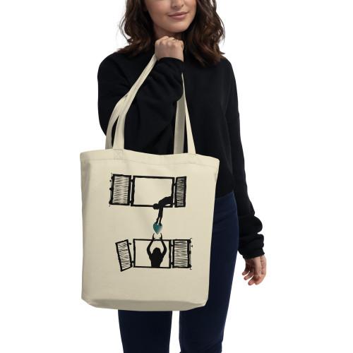 Sharing is the new hug Eco Tote Bag