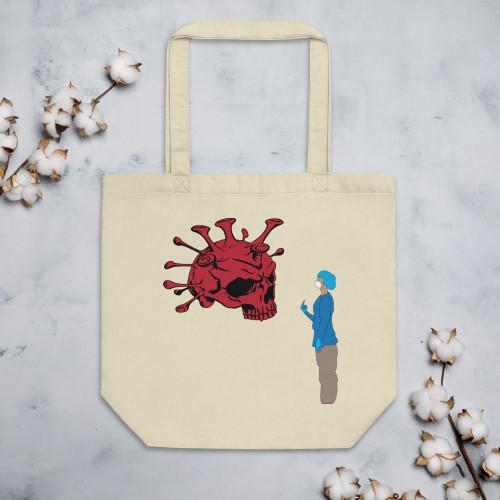 Healthcare Fights Covid-19 Eco Tote Bag