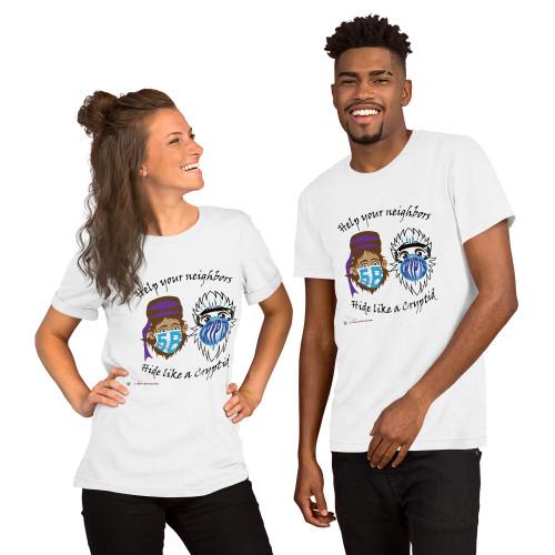 Masked Cryptids Short-Sleeve Unisex T-Shirt