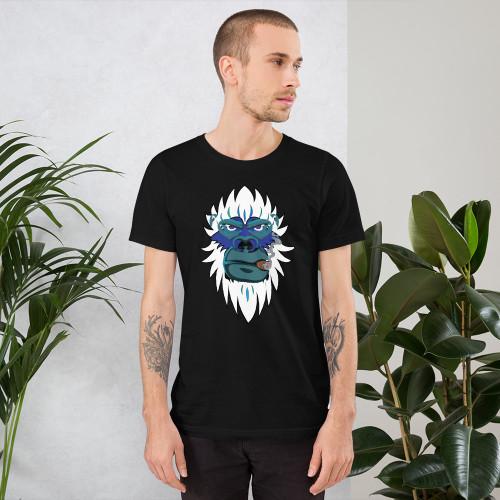 Yeti Smoking Short-Sleeve Unisex T-Shirt