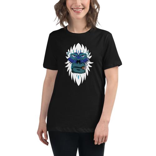 Smoking Yeti Women's Relaxed T-Shirt