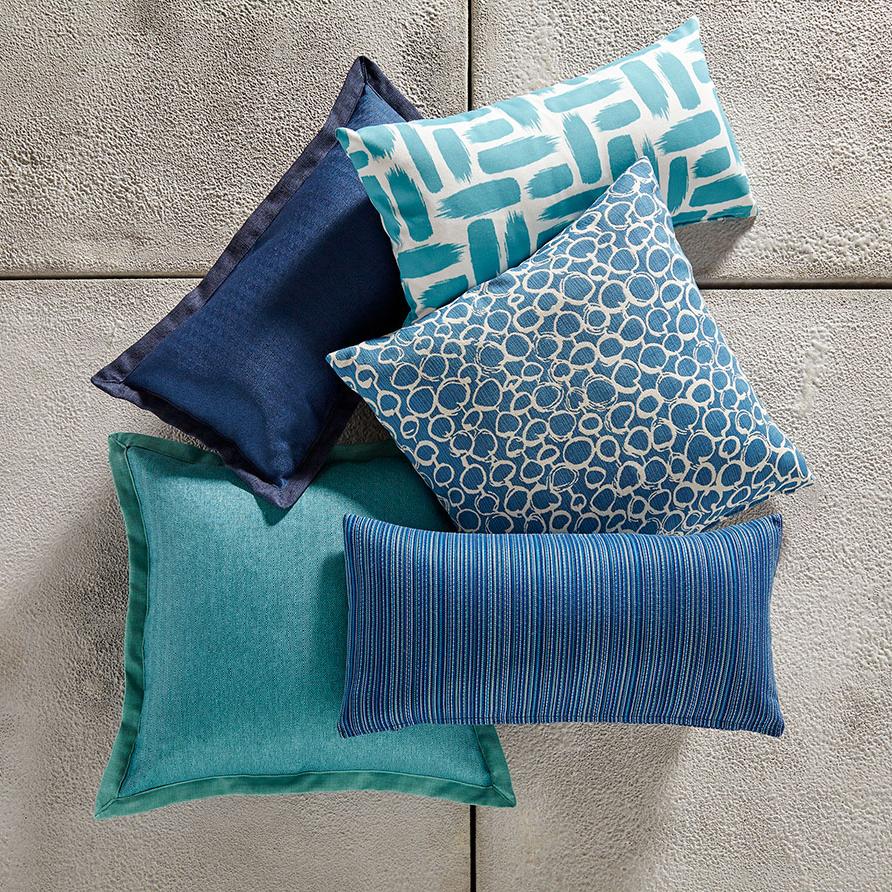 MTO Blue Pillows