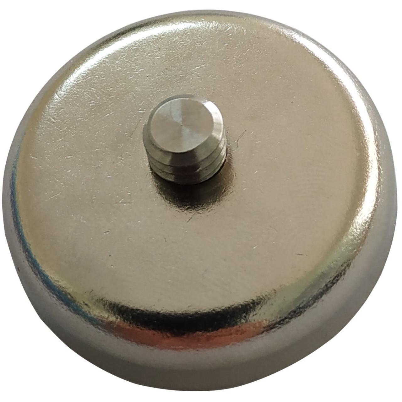 Back side the 25 mm magnet.